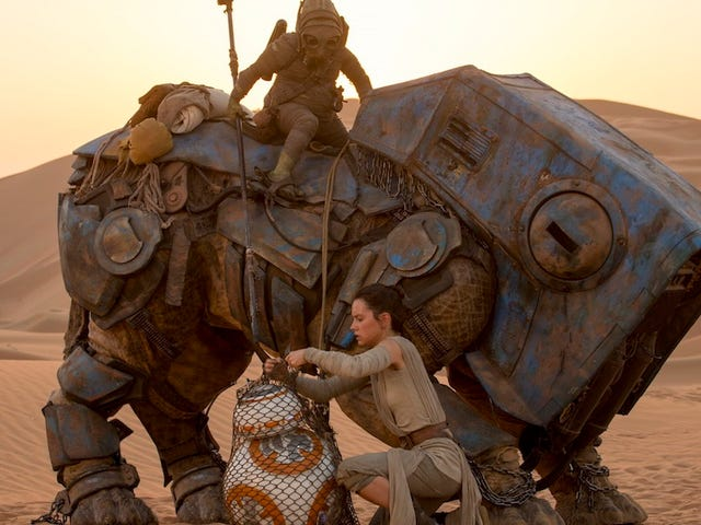 New TheForce Awakens Feature Teases Out Rey's Background