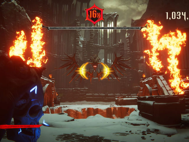 Metal: Hellsinger Is A Rhythm Shooter Where You Slay Demons To A Heavy Metal Beat