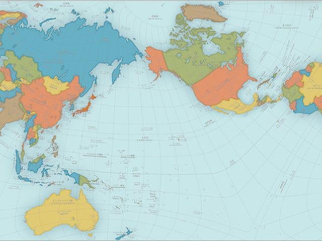 Tämä Wacky World Map Just Won Japanin suurin suunnittelupalkinto