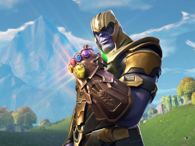 Fortnite Players Are Having Fun Trolling Thanos