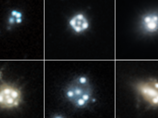 Har Hubble upptäckt Rogue Clumps of Dark Matter?