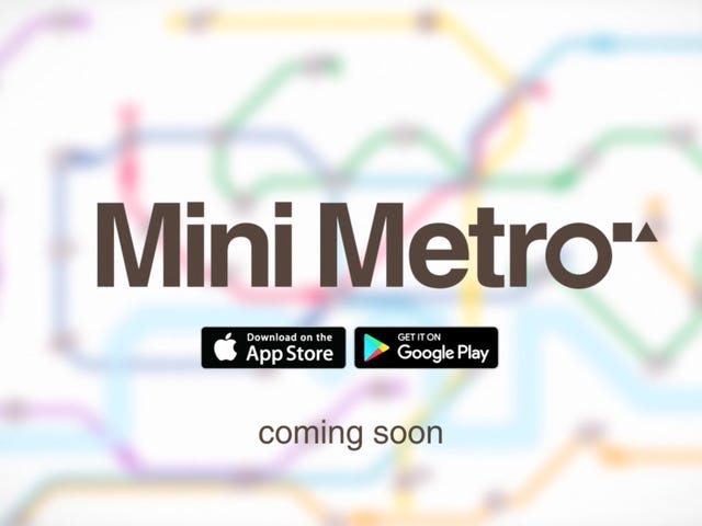 Design a Better Subway System With Mini Metro, Now Just $1 on iOS