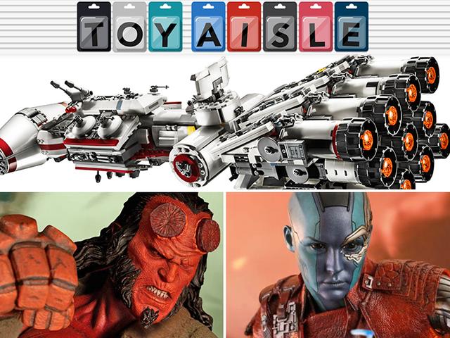 La insignia de la princesa Leia obtiene un asombroso juego de Lego nuevo y los juguetes más poderosos de la semana