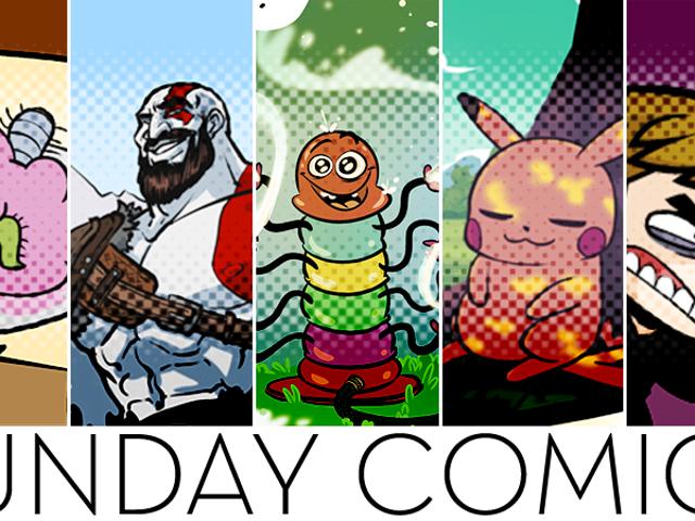 Sunday Comics: Big Circle