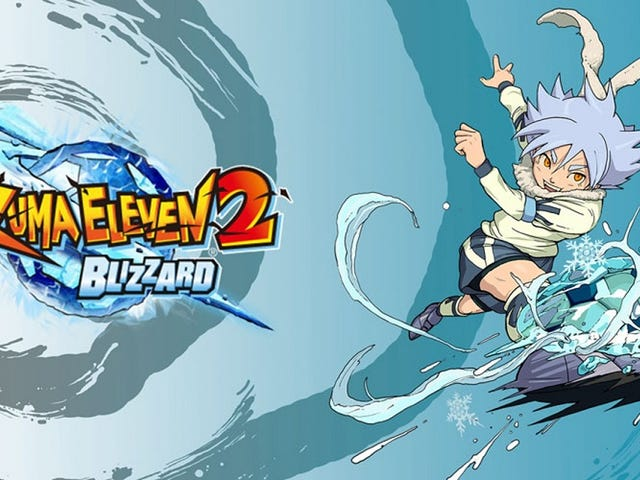 Playing Inazuma Eleven 2 Blizzard (Part 1)