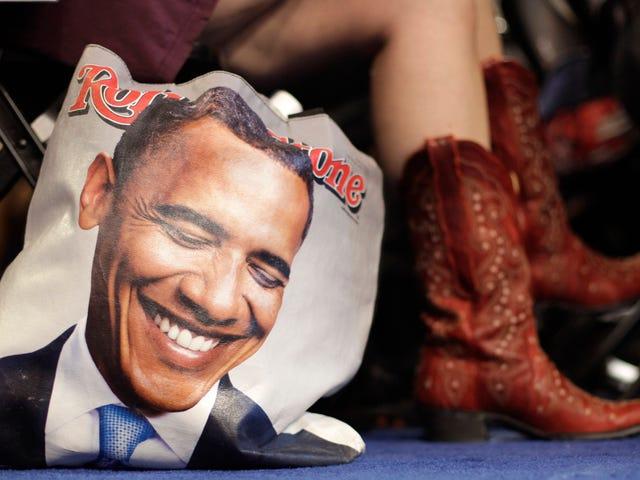 Relativement, Barack Obama saute les funérailles de Nancy Reagan pour se rendre à SXSW