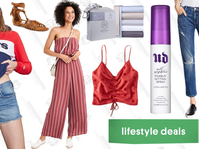 Thursday's Best Lifestyle Deals: Bed Sheets, Urban Decay, American Eagle, and More