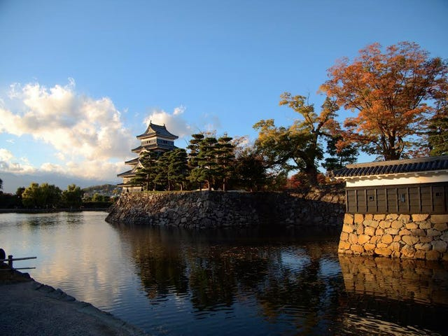 Matsumoto Castle.  Matsumoto, Nagano.  Af Tjidde Tempels