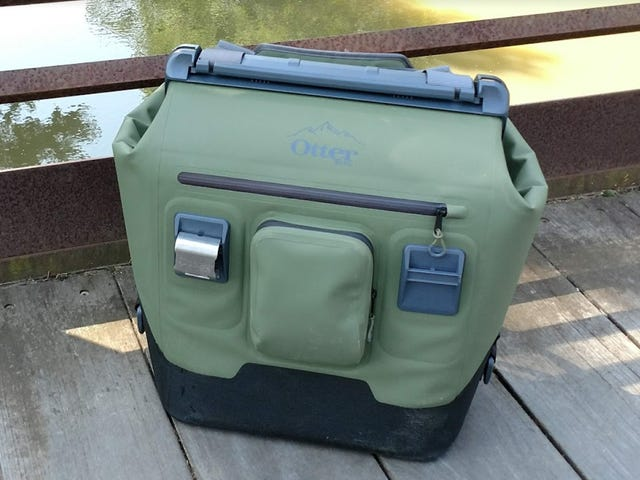Break Backcountry Beverage Barriers with Otter's Backpack Soft Cooler