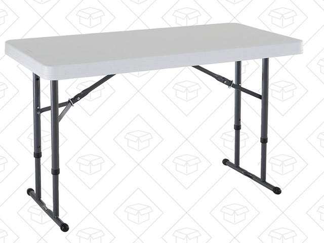 Expand Your Workspace With This $38 Folding Table