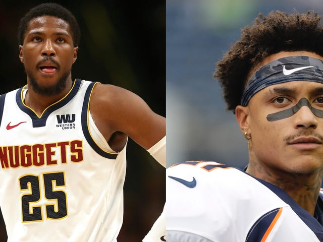 Video Surfaces Of Wild Brawl Between Nuggets' Malik Beasley And Former Bronco Su'a Cravens