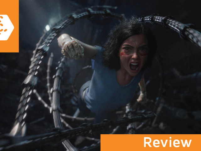 Alita: Battle Angel is a divine technical marvel amid a scrapheap of adaptations