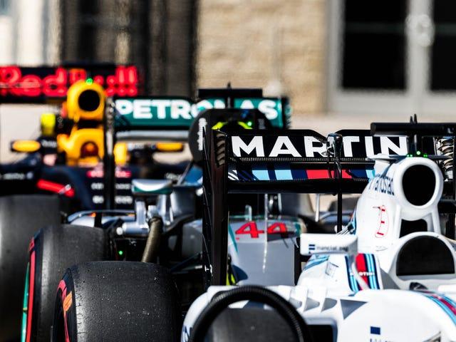 Tässä on sinun Austin F1 lauantaiharjoittelu ja kelpuuttava Über-galleria