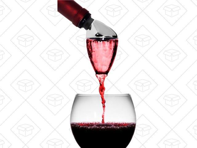 Sblocca il sapore del tuo vino con $ 8 Aeratore coniglio