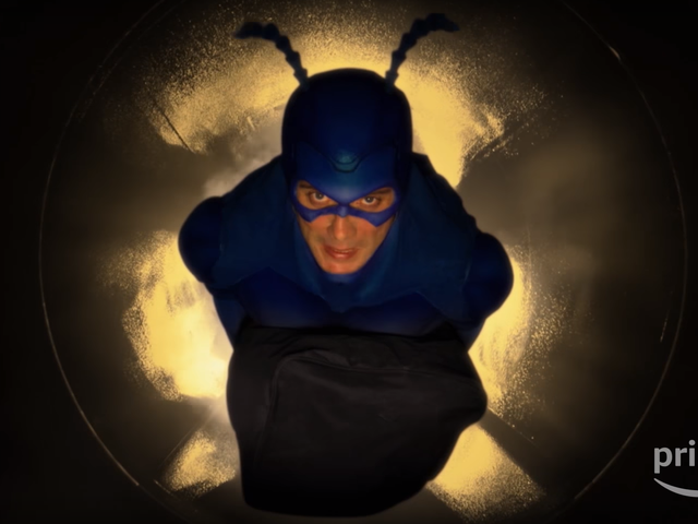 The Second Half of Amazon's The Tick is Coming to the Rescue This February