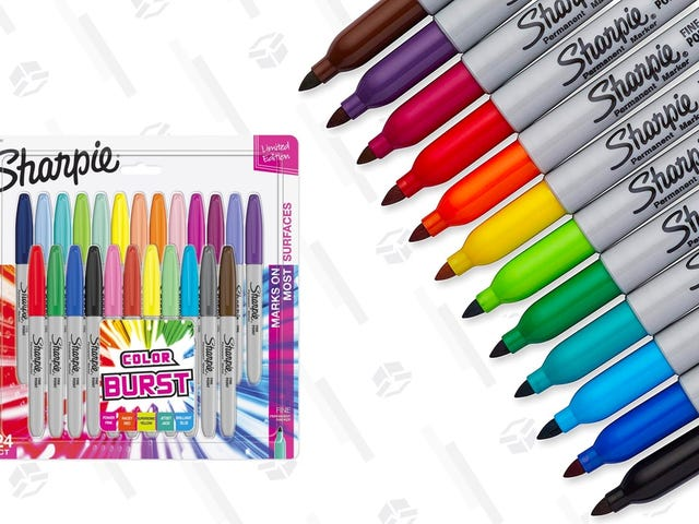 Add 24 Sharpies To Your Collection For Just $11