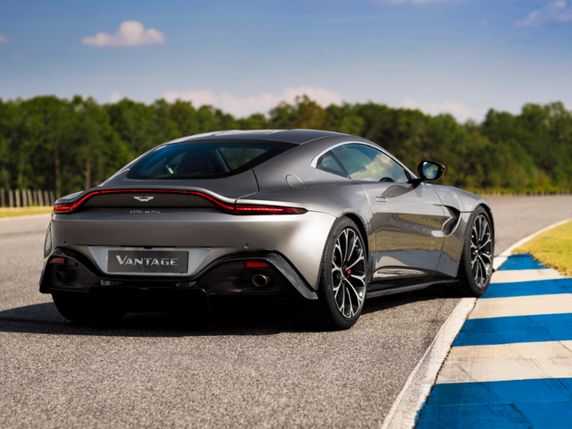 The Vantage looks more like a TVR than the new TVR