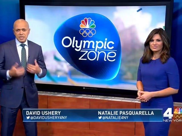 É hora de novo para sua estação local da NBC se tornar um especialista em Jogos Olímpicos