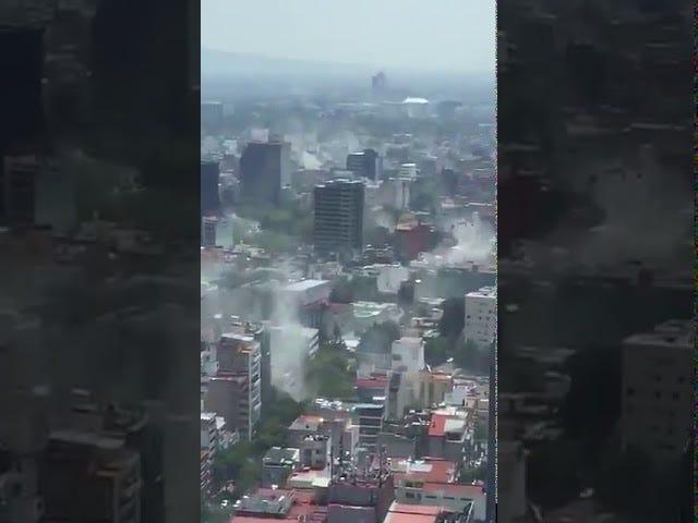 Rezar pela Cidade do México