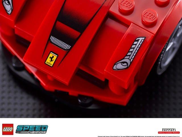 Lego announces partnership with Ferrari, McLaren and Porsche