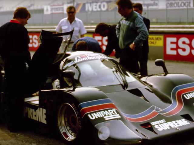 Der Lamborghini Countach QVX war das Lambo-Auto der Gruppe C, das es nie geschafft hat