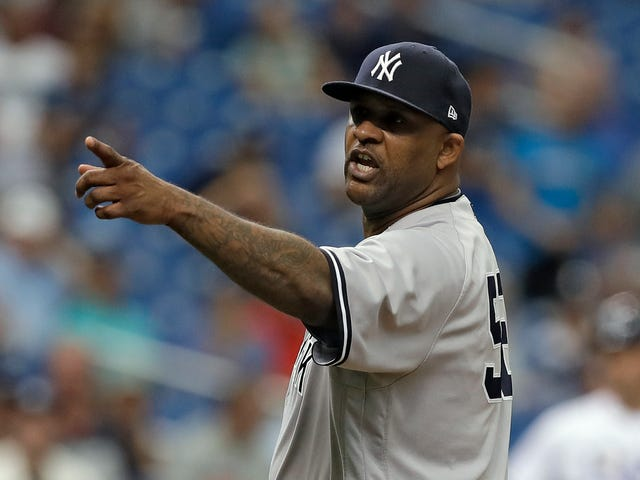 "CC Sabathia Plunks Batter, Costs Himself $500K, Tells Rays Dugout ""That's For You...Bitch"""