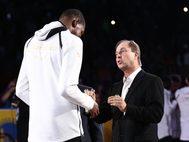 Kevin Durant Laughs Off Joe Lacob's Plea To Re-Sign With Warriors
