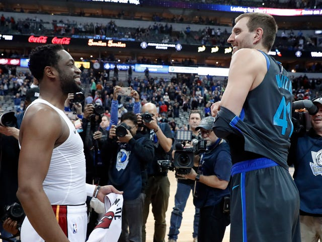 Dirk And Wade Buried The Hatchet