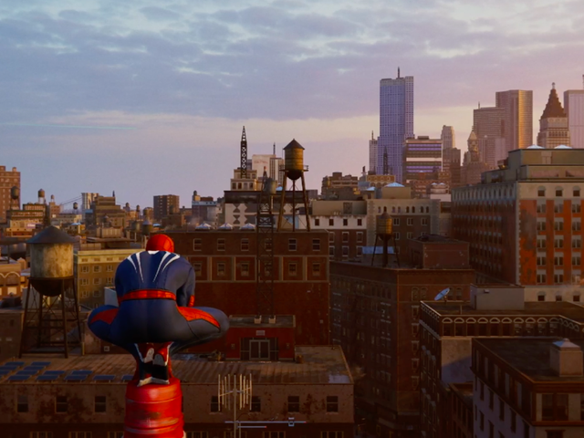 Swinging Through New York City As Spidey Feels Effortless