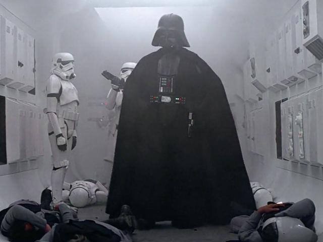La mejor escena de <i>Rogue One</i> fue incluida en la película poco antes de su estreno