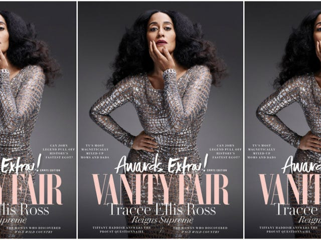 Bow Down: Tracee Ellis Ross Covers Vanity Fair's Special Awards Issue