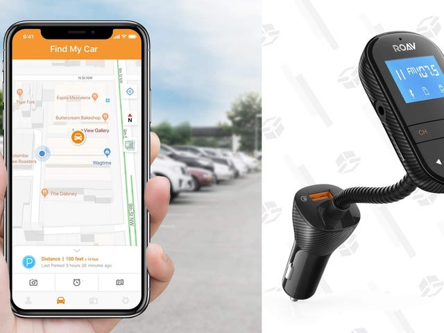 Anker's $24 Bluetooth FM Transmitter Also Charges Your Phone and Finds Your Car