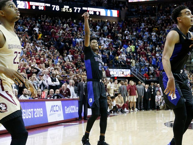 Duke Beat Florida State With A Wide-Open Game-Winner