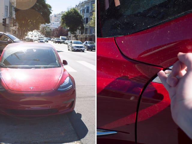 Warum änderten die Detroit-Nachrichten eine Schwachstelle auf den Plattenlücken des Tesla-Modells 3, dann ändern sie es zurück?