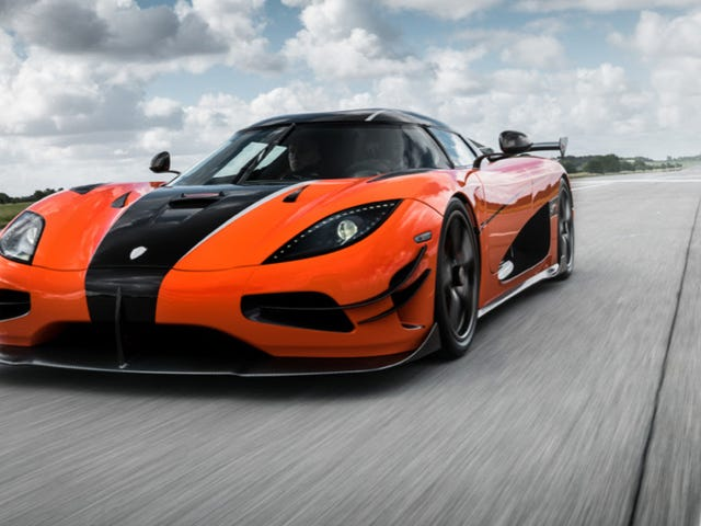 This Is The Koenigsegg Agera XS Which Is Like A Koenigsegg Agera RS But More Excessive [Updated]