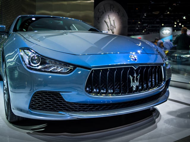 Концепция Maserati Ghibli Ermenegildo Zegna имеет чертовски приятную краску