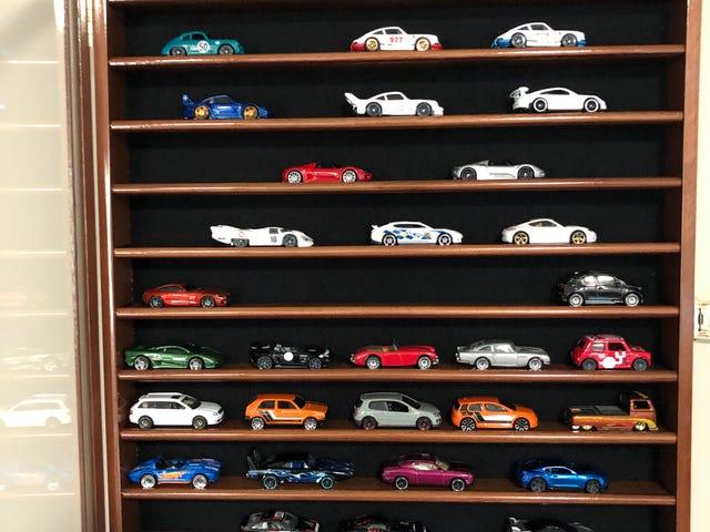 Bought a miniature 50 car garage.