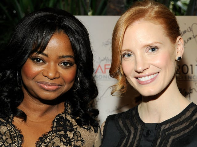 Jessica Chastain and Octavia Spencer Are Making a Christmas Movie About the Weather