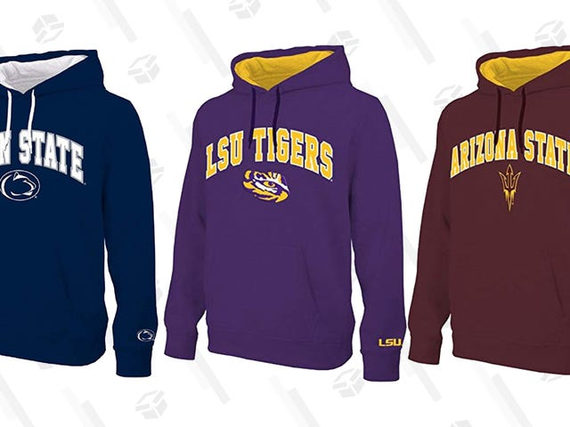 Rep Your Alma Mater With a $25 NCAA Hoodie