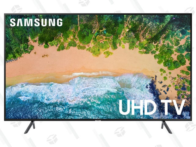 "Upgrade Your Home Theater With This 65"" Samsung TV"