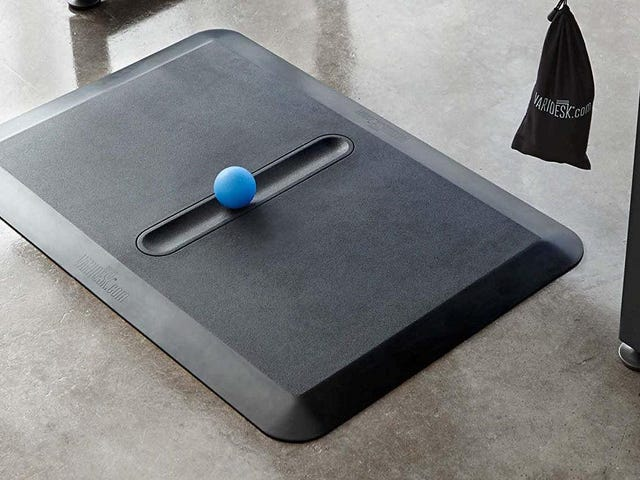 If You Have a Standing Desk, You Need This $56 Anti-Fatigue Comfort Floor Mat