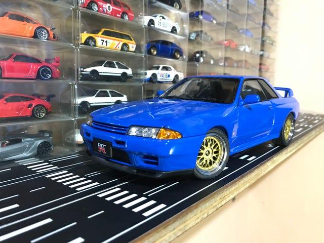 AutoArt Nissan Skyline R32 GT-R V-Spec II: Hello again, LaLD