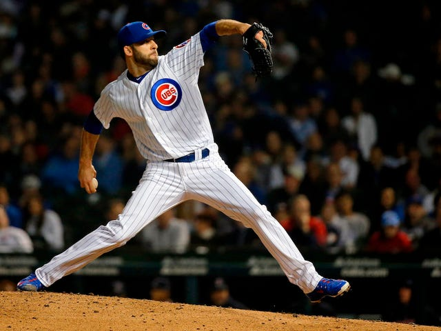 Cubs Reliever Brandon Morrow Says He Hurt Himself While Taking Off His Pants