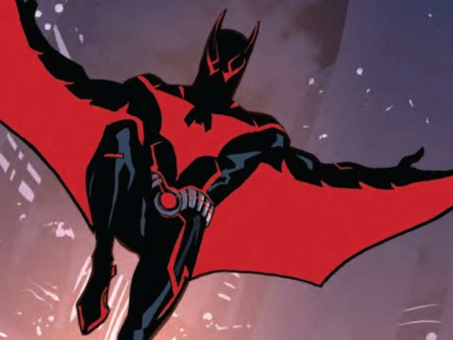 The Geek Empress Recenzje: Batman Beyond Rebirth: Escape from the Grave