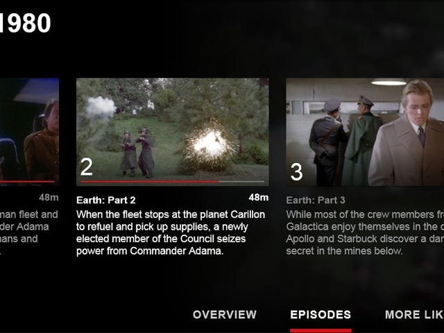 Galactica 1980 is Now Complete on Netflix
