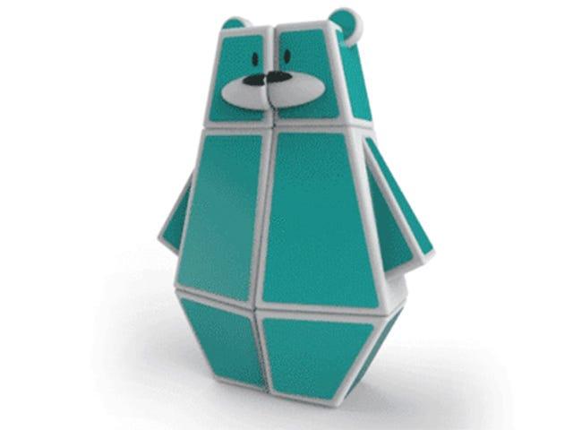 Du kan 3D-Print denne Kid-Friendly Rubik's Bear Puslespil gratis
