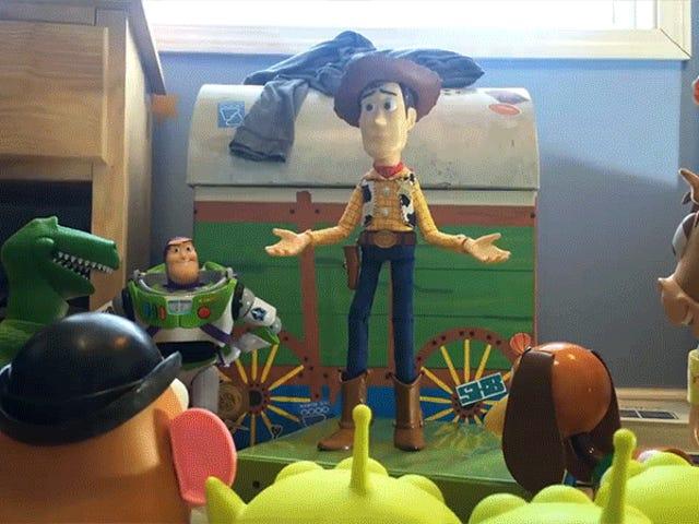 Denna Live-Action Toy Story 3 Remake gjord av tonåringar sätter mina egna tonåriga prestationer till skam