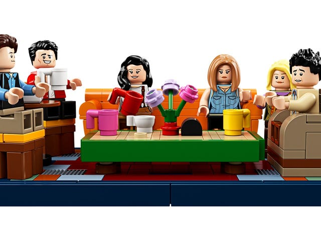 Lego's Friends Central Perk Set Is An Impressive Collection Of Tiny White People