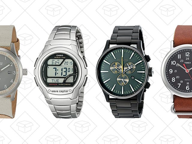 Don't Be Late to Amazon's One-Day Watch Sale