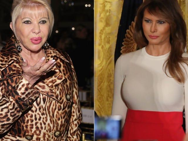 La prima signora si avvicina alla 'prima signora' in Ex-Wife Beef presidenziale